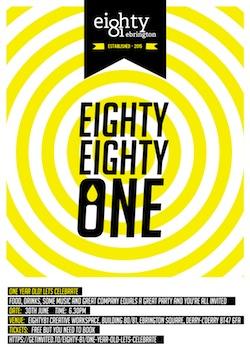 Eighty81 Creative Workspace Logo