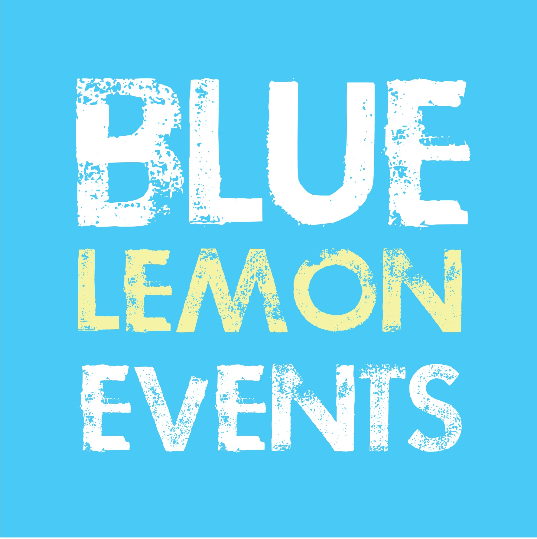 Blue Lemon Events Logo
