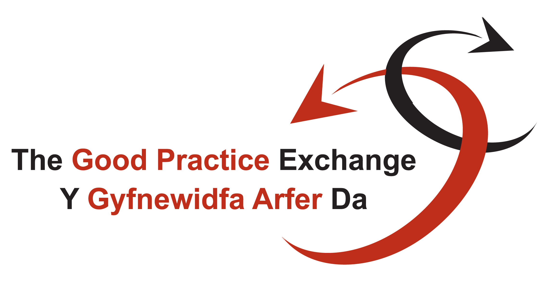 Good Practice Exchange at the Wales Audit Office Logo